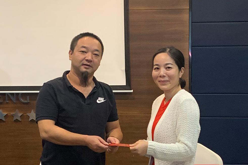 2020年四季度目标启动大会顺利召开-湖南江海环保实业有限公司